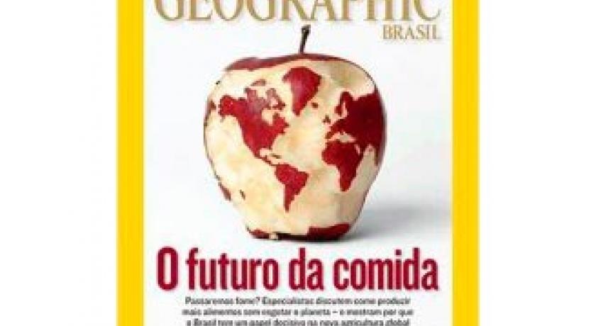 O futuro da comida pela National Geographic
